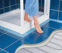 теплый пол Термо в ванной