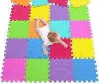 Мягкие полы для детских комнат