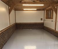 Напольные покрытия для гаража. Часть 2